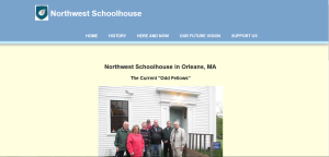 Northwest Schoolhouse, Orleans MA website by Ryder Web Development